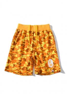 Жёлтые шорты Bape x PUBG - CA1116