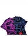 Купить фиолетовую футболку Bape Half Camo в Киеве с доставкой по Украине