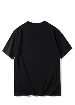 Чёрная футболка Bape - FA1118