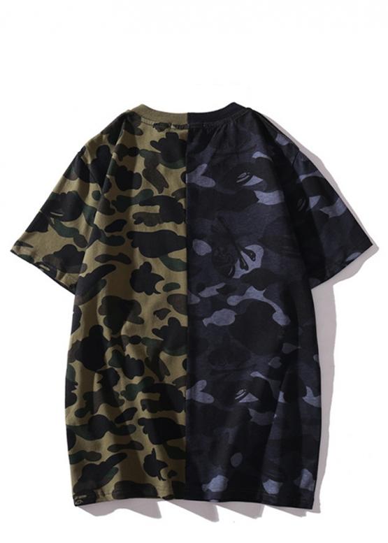 Купить футболку Bape зелёный камуфляж в Киеве с доставкой по Украине