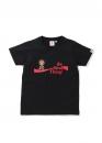 Купить чёрную футболку Bape Coca Cola Milo Skateboarding Tee Ladies в Киеве с доставкой по Украине