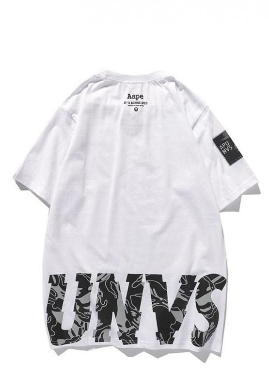 Купить белую футболку Bape в Киеве с доставкой по Украине