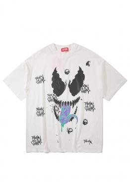 Белая футболка Venom - FB1114