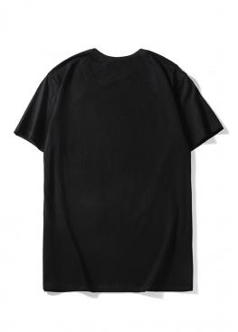 Чёрная футболка Balenciaga - FB1117