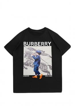 Чёрная футболка Burberry - FB1121