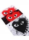 Купить чёрную футболку Comme des Garcons с красным сердецем в Киеве с доставкой по Украине
