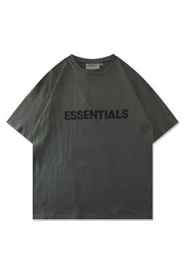 Футболка Fear Of God Essentials зелёная - FE1116
