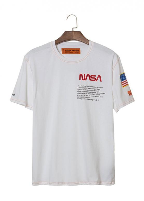 Купить белую футболку NASA x Heron Preston в Киеве с доставкой по Украине