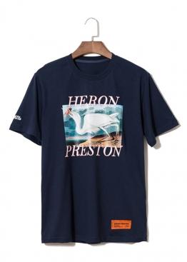 Синяя футболка Heron Preston - FI1115