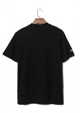 Чёрная футболка Стиль Heron Preston - FI1117