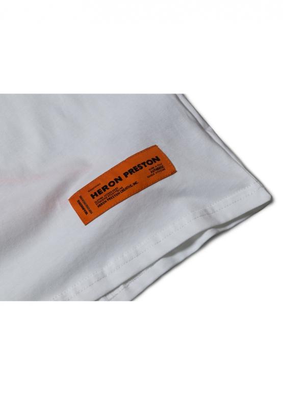 Купить белую футболку Стиль Heron Preston в Киеве с доставкой по Украине
