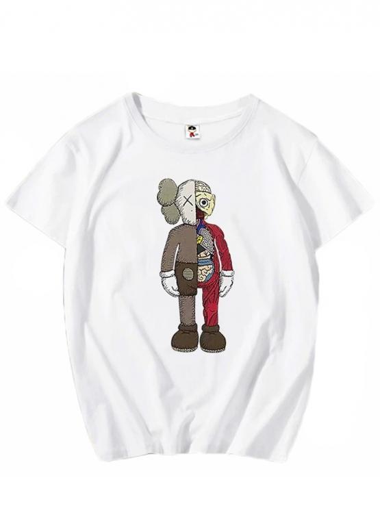 Купить белую футболку Kaws в Киеве с доставкой по Украине