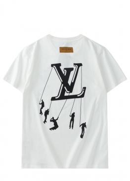 Белая футболка Louis Vuitton - FL1112