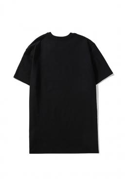 Чёрная футболка Palm Angels - FM1112