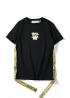 Чёрная футболка Off-white - FO1111