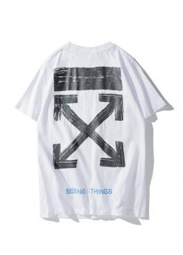 Белая футболка Off-white - FO1116