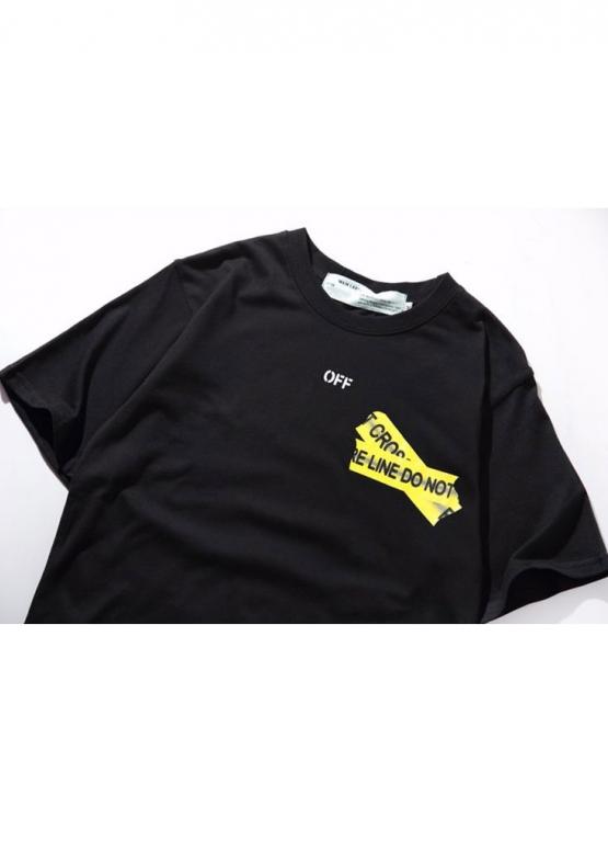 Купить чёрную футболку Off-white Not Cross в Киеве с доставкой по Украине