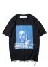 Чёрная футболка Off-white Bernini - FO1128