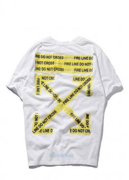Белая футболка Off-white - FO1131