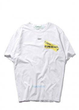 Белая футболка Off-white Not Cross - FO1131