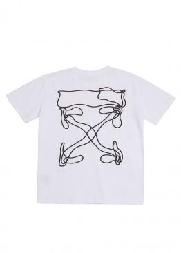 Белая футболка Off-white 2020 - FO1141