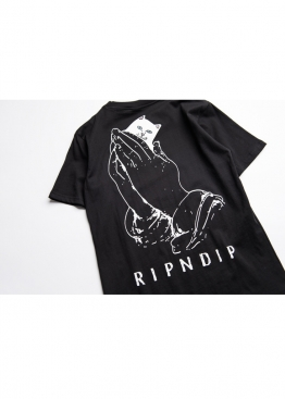 Чёрная футболка Rip n Dip - FR1113