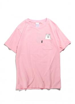 Розовая футболка Rip n Dip - FR1114