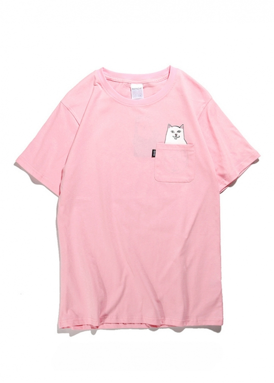 Купить розовую футболку Rip n Dip купить в Киеве с доставкой по Украине