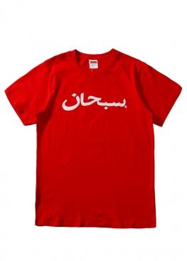 Красная футболка Supreme - FS1111