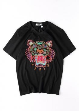 Чёрная футболка Kenzo - FZ1113