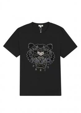 Чёрная футболка Kenzo - FZ1114