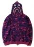 Фиолетовый худи Bape - HA1119