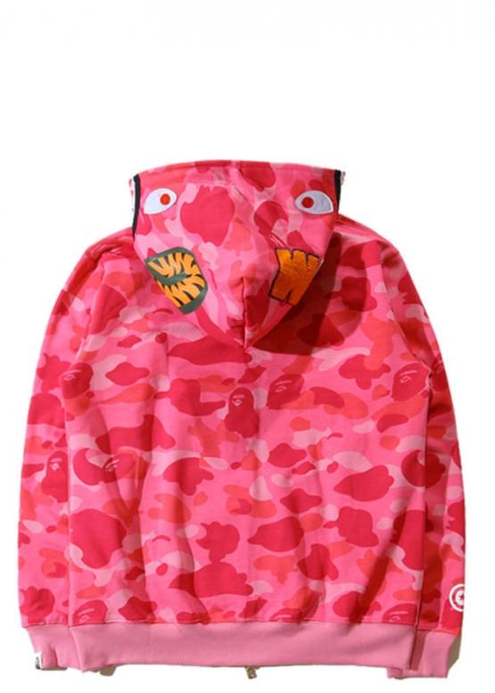 Розовый худи Bape купить в Киеве с доставкой по Украине