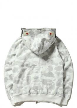 Белый худи Bape - HA1130