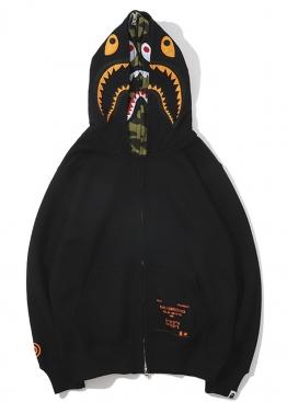 Чёрный худи Bape - HA1131