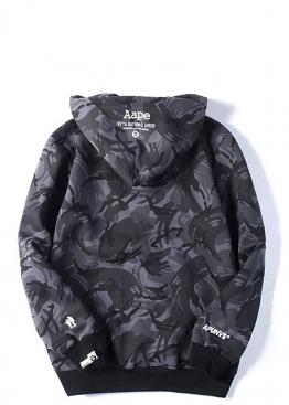 Чёрный худи Bape - HA1133