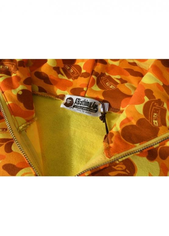 Купить жёлтый худи Bape x PUBG в Киеве с доставкой по Украине