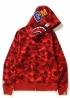 Красный худи Bape - HA1136