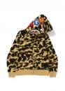 Купить жёлтый худи Bape 1st Camo Shark Full Zip Hoodie Yellow в Киеве с доставкой по Украине