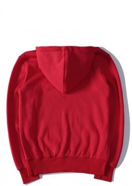 Красный худи Comme des Garcons - HС1112
