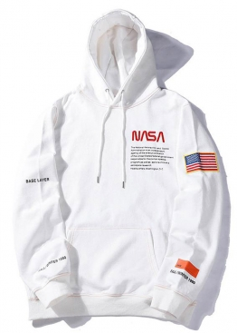 Белый худи NASA x Heron Preston - HI1111