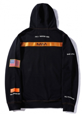 Чёрный худи NASA x Heron Preston - HI1112