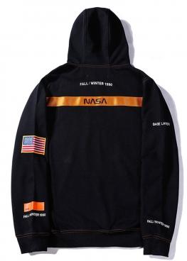 Чёрный худи NASA x Heron Preston - HI1112