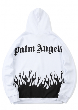 Белый худи Palm Angels - HM1115