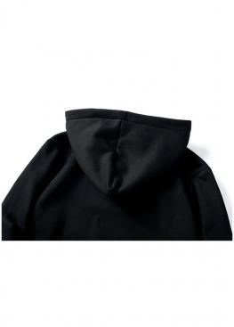 Чёрный худи Supreme Box Logo - HS1114