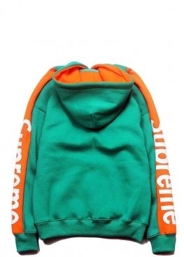Зелёный худи Supreme - HS1122