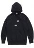 Чёрный худи Supreme x Comme des Garcons - HS1124
