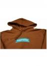 Купить коричневый худи Supreme Box Logo в Киеве с доставкой по Украине