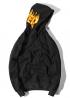 Чёрный худи Thrasher - HT1111