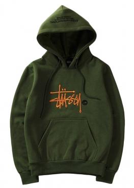 Зелёный худи Stussy - HU1111